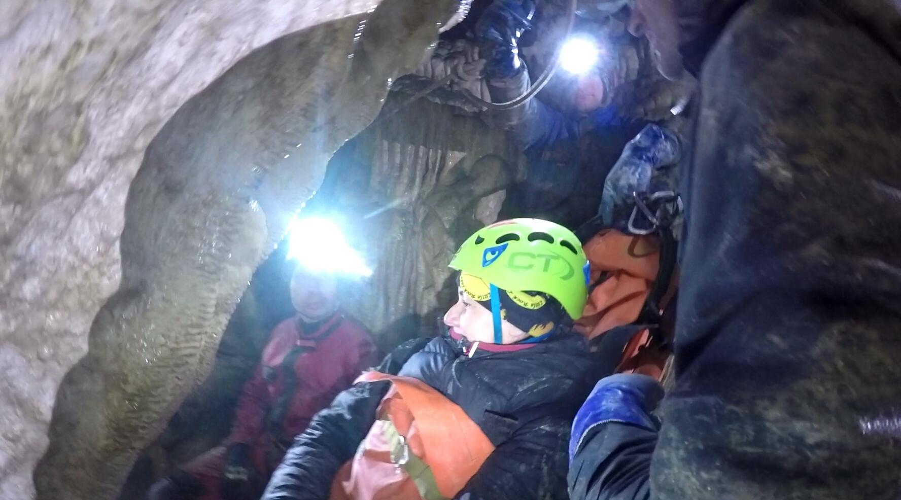 Manewry ratownictwa jaskiniowego 2017 r.